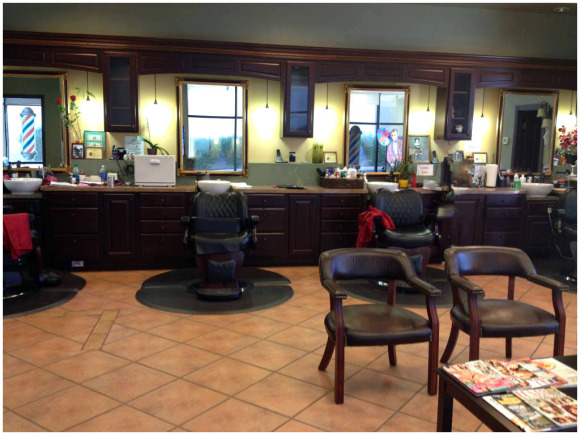 Photo of Open Inside View of Friendly Barber